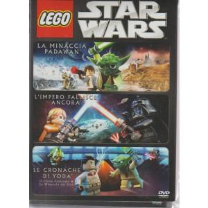 LEGO STAR WARS. COFANETTO 3 FILM. LA MINACCIA PADAWAN. L'IMPERO FALLISCE ANCORA. LE CRONACHE DI YODA.