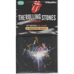 THE ROLLING STONES COLLECTION. 25 USCITA A BIGGER BANG.