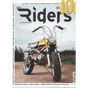RIDERS Italian magazine mensile n. 100 Febbraio 2017