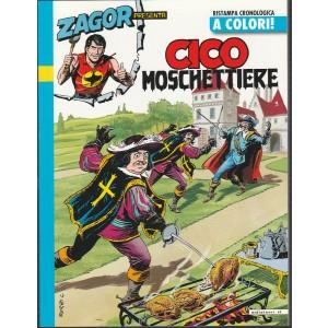 Zagor Presenta Cico moschettire - Ristampa cronologica a colori n. 23