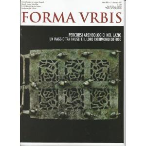 FORMA URBIS mensile n. 1 Gennaio 2017