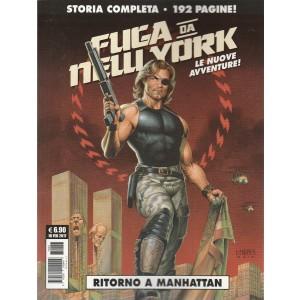 """Cosmo Serie Blu - Fuga da New York """"Ritorno a Manhattan"""" Storia completa"""
