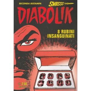 """Diabolik Swiisss (II Ristampa) n. 273 """"8 rubini insanguinati"""""""