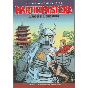 Martin Mystere Coll.storica a colori vol. 10  - Il Robot e il Dinosauro