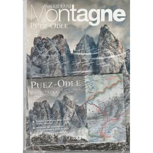 Meridiani Montagne -Bimestrale n. 77 Novembre 2015 -  Puez-Odle