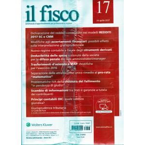 Il Fisco - settimanale n. 17 - 24 Aprile 2017