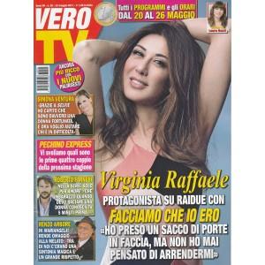 "Vero Tv - Settimanale n. 20 - 22 Maggio 2017 ""Virginia Raffaele"""