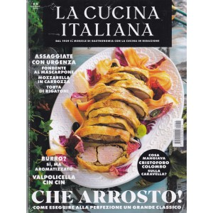 La cucina italiana - n. 10 - ottobre 2019 - mensile