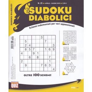 Solo Sudoku Diabolici - n. 25 - aprile - giugno 2020 - trimestrale