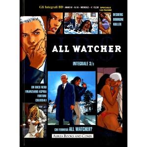 Integrali Bd Nuova Serie - N° 18 - Chi Fermera' All Watcher? - I.R.S. All Watcher Integrale Aurea Books And Comix