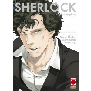 Manga: Sherlock   3 Il Grande Gioco - Manga Mix   121 - Planet Manga