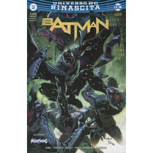 BATMAN #2 (115) - DC Comics lion