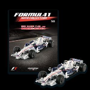 Formula 1 - Auto Collection Robert Kubica - BMW Sauber F1.08 del 2008
