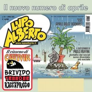 Lupo Alberto - n. 418 - 1 aprile 2020 - mensile -