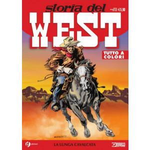 Storia del West - La lunga cavalcata - n. 21 - mensile - dicembre 2020