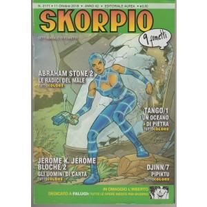 Skorpio - n. 2171 - 11 ottobre 2018 - settimanale di fumetti