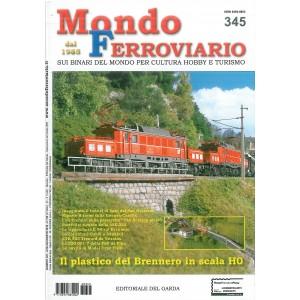 Mondo Ferroviario  mensile n. 345 - Luglio/Agosto 2016