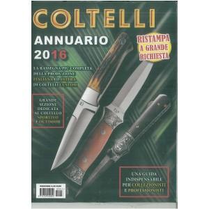 Annuario Coltelli 2016 - in edicola dal 5 Dicembre 2015 (ristampa)