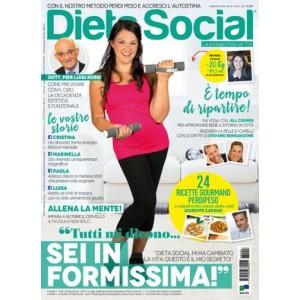 """Dieta social N° 2 """"Tutti mi dicono... SEI IN FORMISSIMA"""""""