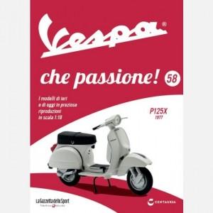 Vespa che passione! P125X 1977