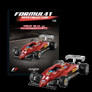 Formula 1 - Auto Collection Mario Andretti - Ferrari 126 C2 del 1982