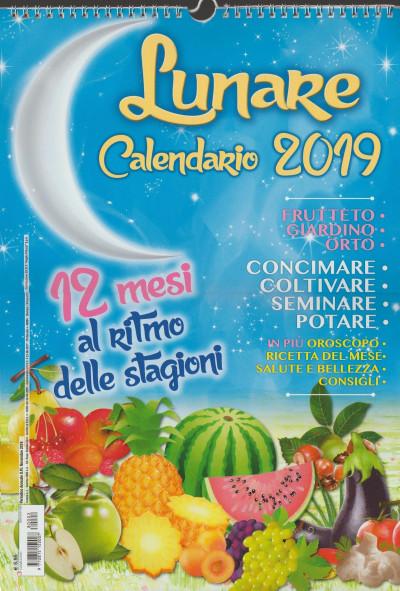 Calendario Lunare 2018   cm.29 x 42 con spirale EDICOLA SHOP