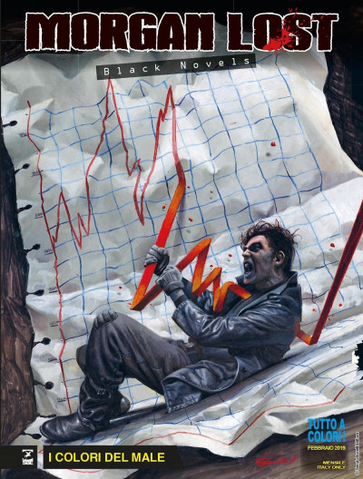 Morgan Lost Black Novels - N° 1 - I Colori Del Male - Bonelli Editore