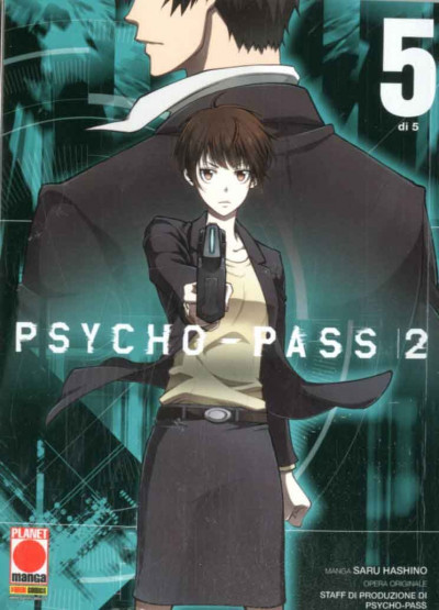 Psycho-Pass 2 (M5) - N° 5 - Psycho-Pass - Manga Life Panini Comics