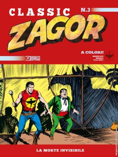 Zagor Classic N.3 - La morte invisibile