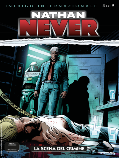 Nathan Never N.346 - La scena del crimine