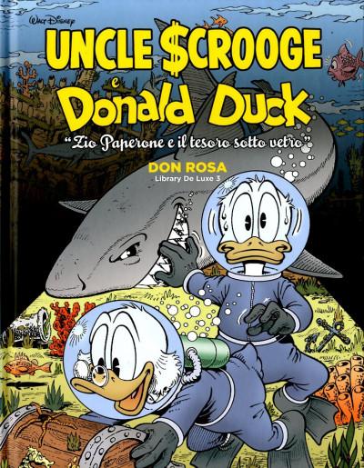 Don Rosa Library Deluxe - N° 3 - Zio Paperone E Il Tesoro Sotto Vetro - Panini Comics