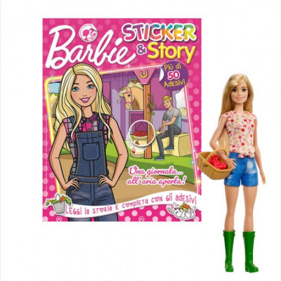 Barbie Sticker and Story
