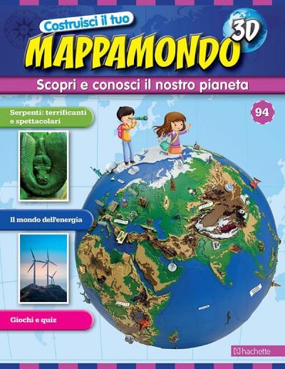 Costruisci il Mappamondo 3D 2^ edizione uscita 94