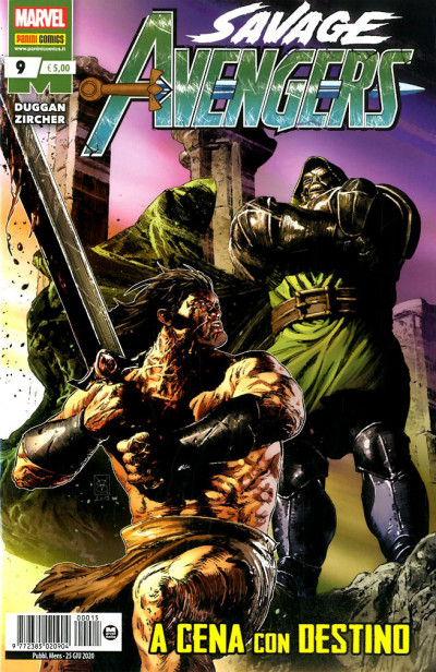Savage Avengers - N° 9 - Savage Avengers - Panini Comics