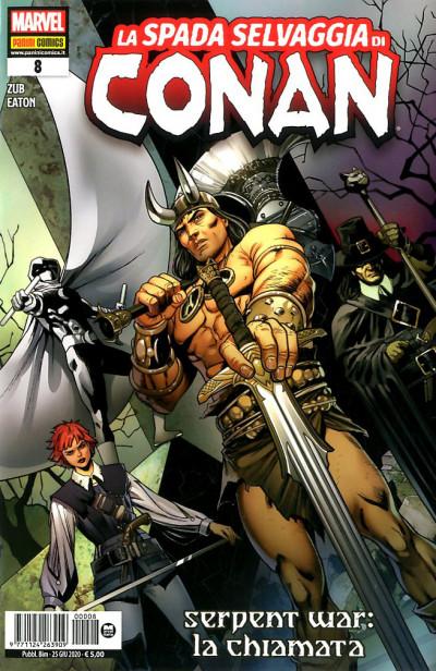 Spada Selvaggia Di Conan - N° 8 - La Spada Selvaggia Di Conan - Panini Comics