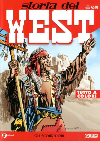 Storia Del West Ristampa - N° 16 - Gli Scorridori - Bonelli Editore