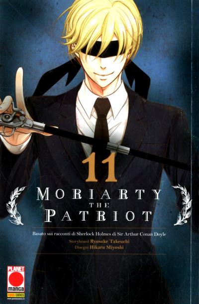 Moriarty The Patriot - N° 11 - Manga Storie Nuova Serie 85 - Panini Comics