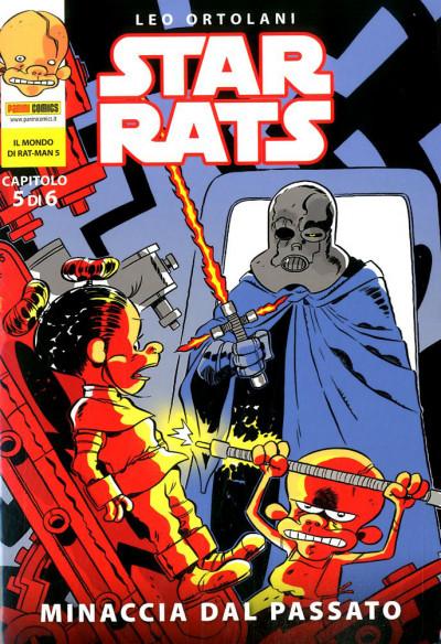 Star Rats (M6) - N° 5 - Minaccia Dal Passato - Il Mondo Di Rat-Man Panini Comics