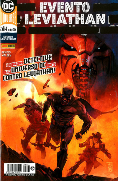 Dc Crossover - N° 2 - Evento Leviathan 1 - Panini Comics