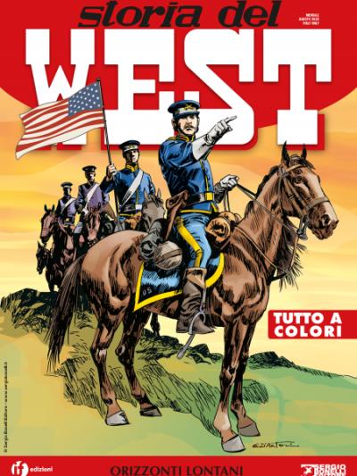 Storia del West N.17 - Orizzonti lontani