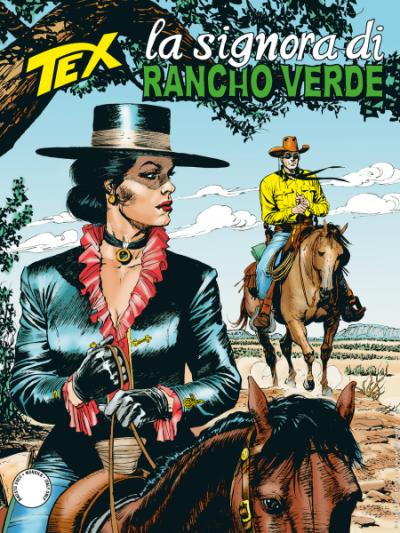 Tex N.718 - La signora di Rancho Verde