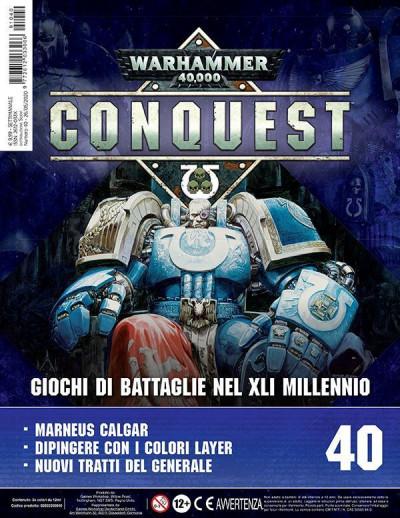 Warhammer 40,000: Conquest uscita 40