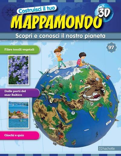 Costruisci il Mappamondo 3D 2^ edizione uscita 97