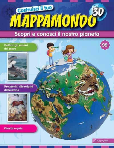 Costruisci il Mappamondo 3D 2^ edizione uscita 99