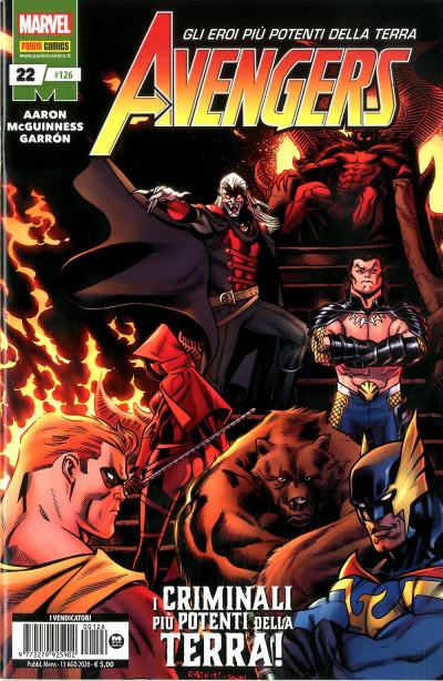 Avengers - N° 126 - Avengers 22 - Panini Comics