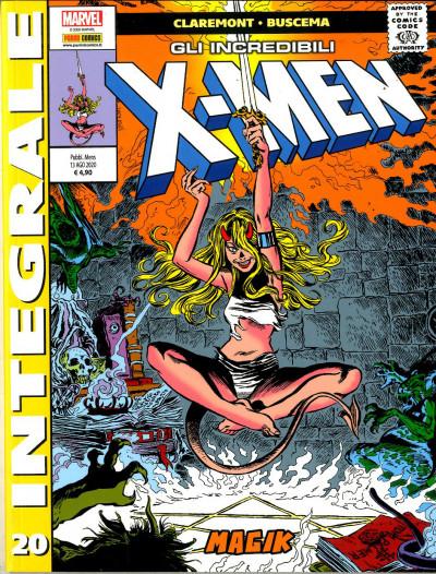 X-Men Di Chris Claremont - N° 20 - Gli Incredibili X-Men - Marvel Integrale Panini Comics