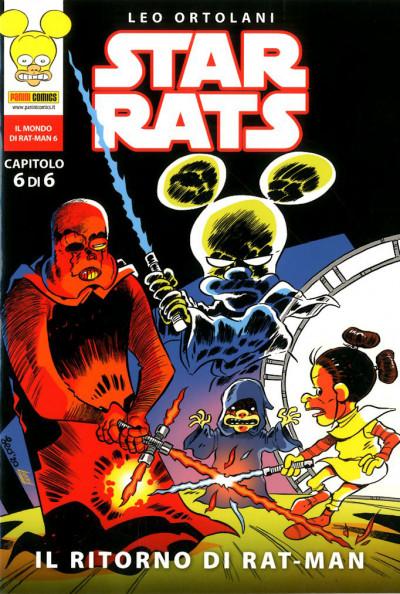 Star Rats (M6) - N° 6 - Il Ritorno Di Rat-Man - Panini Comics