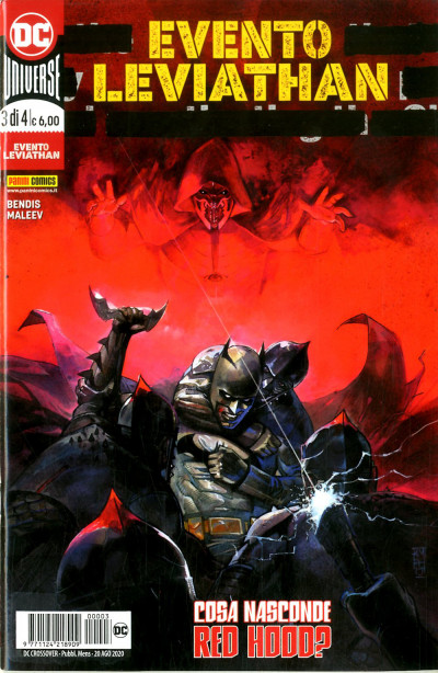 Dc Crossover - N° 3 - Evento Leviathan 2 - Panini Comics