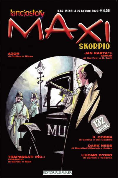 Lanciostory Skorpio Maxi - N° 62 - Lanciostory Skorpio Maxi - Editoriale Aurea