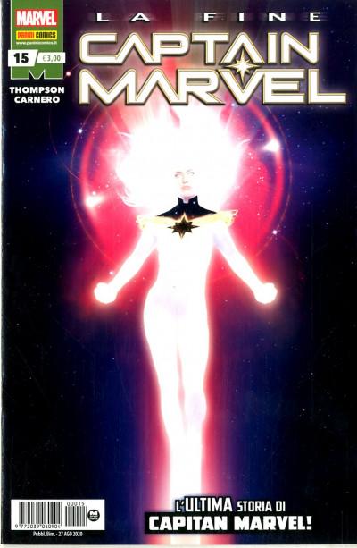 Captain Marvel - N° 15 - Captain Marvel - Panini Comics